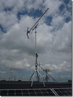 白岡市白岡K樣 アンテナ工事完了。
