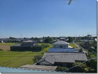 行田市下忍K樣 東京スカイツリー方向の景色(完了)。