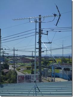 行田市下忍K樣 アンテナ工事完了。