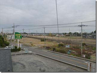 久喜市久喜東I様 東京タワー方向の景色(完了)。