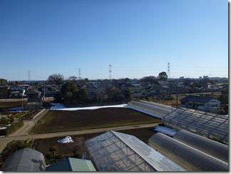 鴻巣市屈巣O樣 東京タワー方向の景色(完了)。