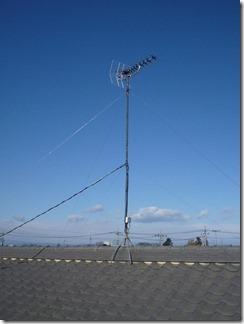 鴻巣市屈巣O樣 アンテナ工事完了。