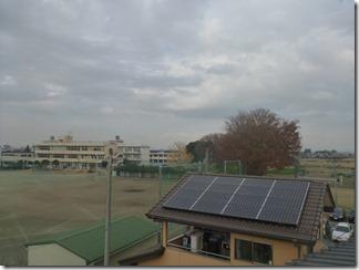熊谷市妻沼O様 前橋局方向の景色(完了)。
