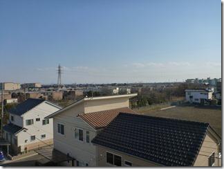鴻巣市吹上富士見S樣 東京タワー方向の景色。