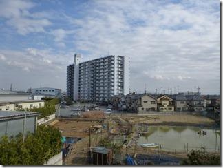 鴻巣市松原F樣 東京タワー方向の景色(完了)。