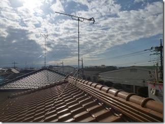 鴻巣市松原F樣 アンテナ工事完了。