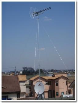 騎西町上崎T様 アンテナ工事完了。.JPG
