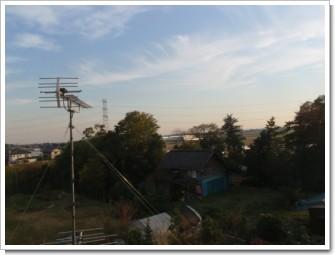 騎西町上種足S様 東京タワー方向の景色。.JPG