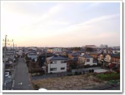 騎西町正能I様 前橋局方向の景色。.JPG
