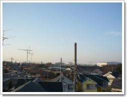 騎西町正能T様 受信方向(前橋局方向)の景色。.JPG