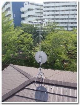 久喜市久喜中央K様 アンテナ工事完了。.JPG