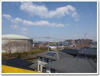 久喜市久喜北T様 前橋局方向の景色。.JPG