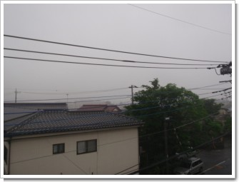久喜市下早見U様 東京タワー方向の景色3。.JPG