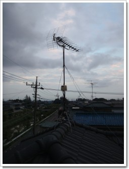 久喜市上内S様 アンテナ工事完了。.JPG