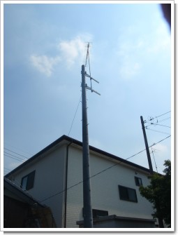 久喜市栗橋東U様 アンテナ工事完了。.JPG