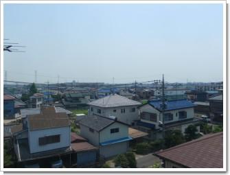 久喜市栗橋東U様 東京タワー方向の景色。.JPG