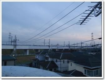久喜市南栗橋O様 東京タワー方向の景色。.JPG