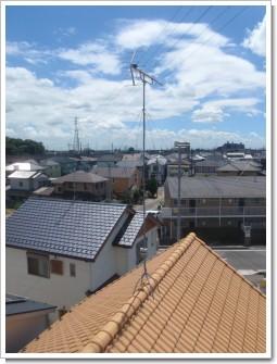 久喜市西大輪K様 アンテナ工事完了。.JPG