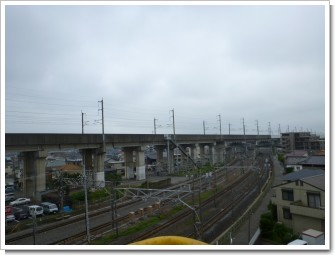 久喜市中央I様 東京タワー方向の景色。.JPG