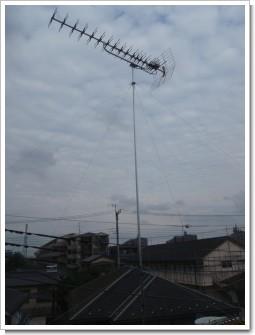 久喜市北M様 アンテナ工事完了。.JPG
