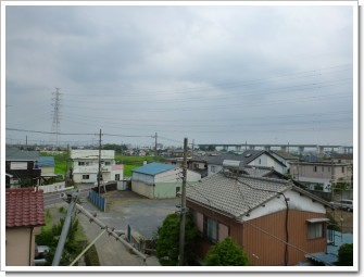 久喜市北青柳H様 東京タワー方向の景色(完了)。.JPG