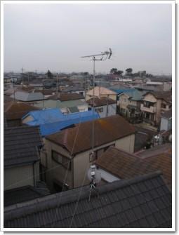 久喜市本町O様 アンテナ工事完了。.JPG