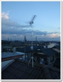 久喜市本町F様 アンテナ工事完了。.JPG
