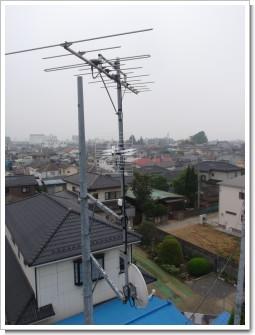 久喜市本町T様 アンテナ工事完了。.JPG