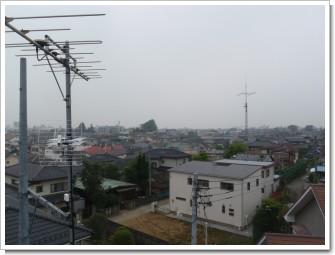 久喜市本町T様 東京タワー方向の景色。.JPG