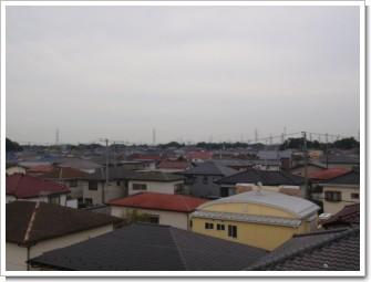 宮代町宮代台A様 東京タワー方向の景色。.JPG