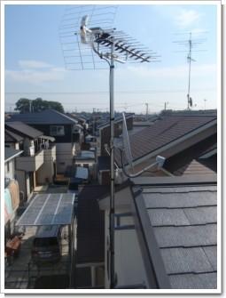 伊奈町小針新宿K様 アンテナ工事完了。.JPG