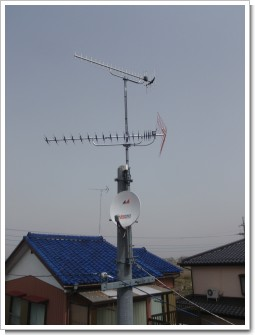 羽生市稲子K様 アンテナ工事完了。.JPG