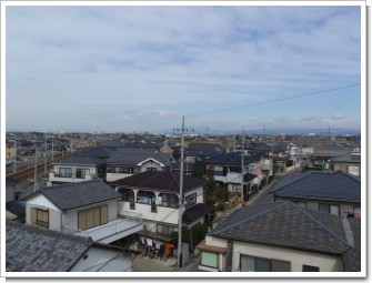 羽生市羽生南O様 前橋局方向の景色。.JPG