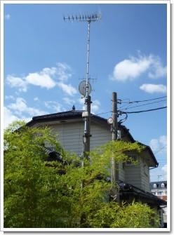 羽生市南T様 アンテナ工事完了。.JPG