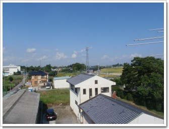羽生市東K様 前橋局方向の景色。.JPG
