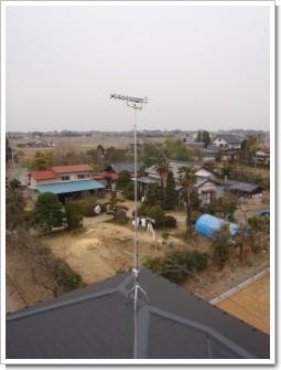 羽生市藤井上組F様 アンテナ工事完了。.JPG
