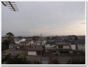 羽生市藤井上組I様 東京タワー方向の景色。.JPG