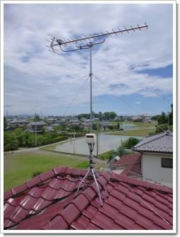 羽生市須影T様 アンテナ工事完了。.JPG