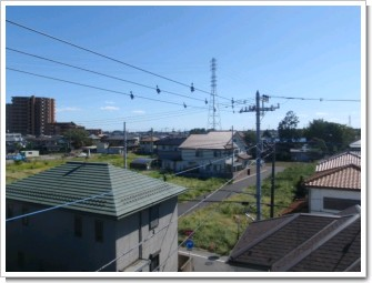 桶川市下日出谷T様 東京タワー方向の景色(完了)。.JPG