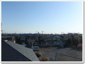 桶川市加納N様 東京タワー方向の景色(完了)。.JPG