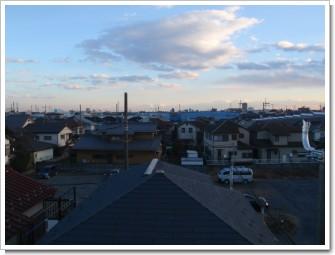 桶川市加納N様 東京タワー方向の景色。.JPG