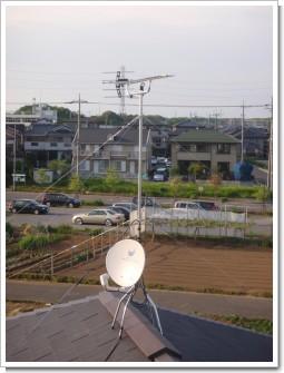 桶川市上日出谷S様 アンテナ工事完了。.JPG