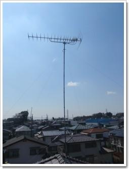 桶川市坂田M様 アンテナ工事完了。.JPG