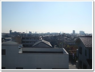 桶川市東O様 東京タワー方向の景色。.JPG