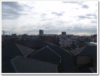 桶川市神明S様 東京タワー方向の景色。.JPG