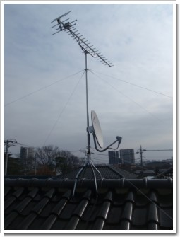 桶川市朝日S様 アンテナ工事完了。.JPG