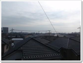 桶川市朝日S様 東京タワー方向の景色(完了)。.JPG