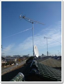 加須市久下N様 アンテナ工事完了。.JPG