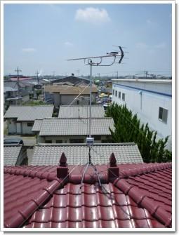 加須市久下S様 アンテナ工事完了。.JPG
