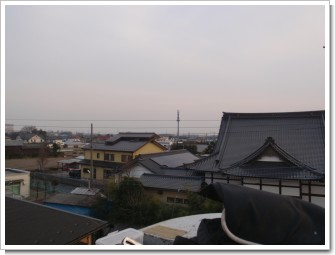 加須市久下S様 東京タワー方向の景色。.JPG